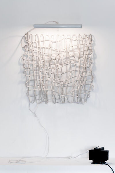 Eduardo Costa, 'Electric self-referential weave', 1983