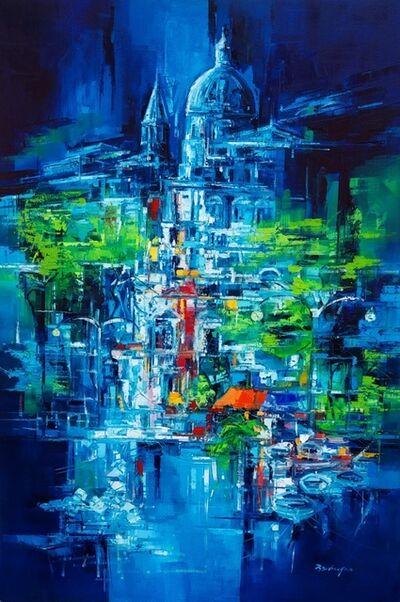 Roberto Di Viccaro, 'Paesaggio notturno', 2019