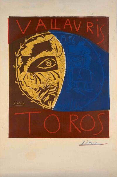 Pablo Picasso, 'Vallauris Toros', 1956