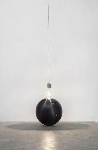 Wilfredo Prieto, 'Luz y bola', 2018