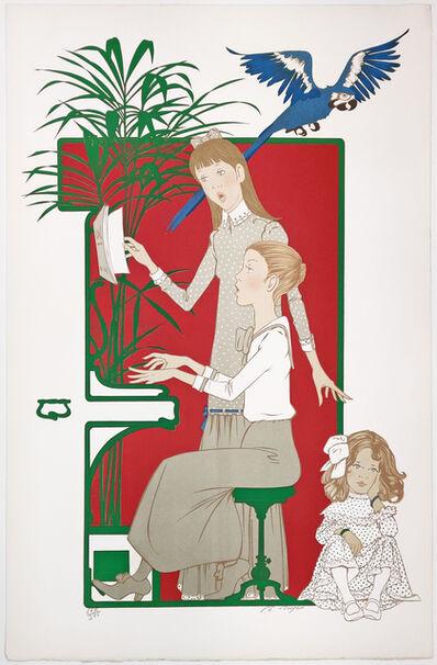 Philip Henri Noyer, 'LES PETIT FILLES AUX PIANO', ca. 1980