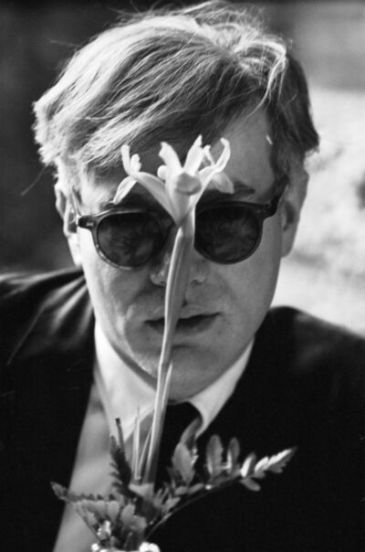 Dennis Hopper, 'Andy Warhol (with Flower)', 1963