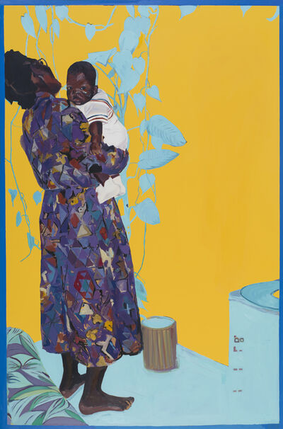 Kudzanai-Violet Hwami, 'Woman and Child', 2017