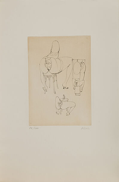 Hans Bellmer, 'untitled from 'Les Anagrammes du Corps'', 1972