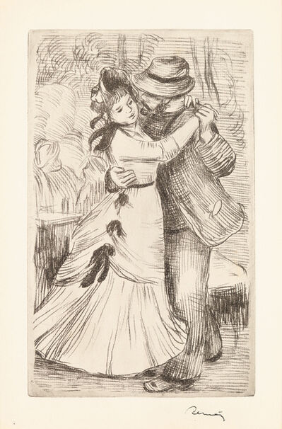 Pierre-Auguste Renoir, 'Dance in the Country', ca. 1897