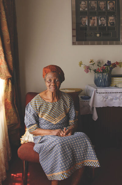 Sue Williamson, 'Caroline Motsoaledi', 2013