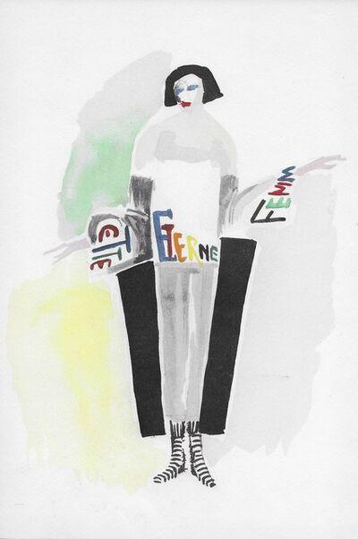 Sonia Delaunay, 'Robe poème', 1969