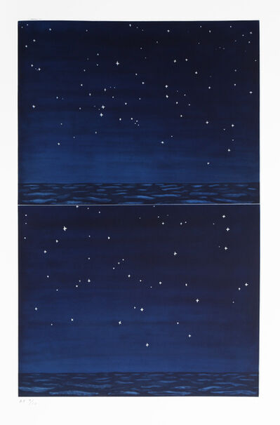 RICHARD BOSMAN, 'Night Sky', 1990