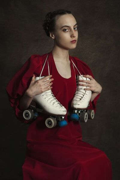 Romina Ressia, 'Woman with Rollers', 2019