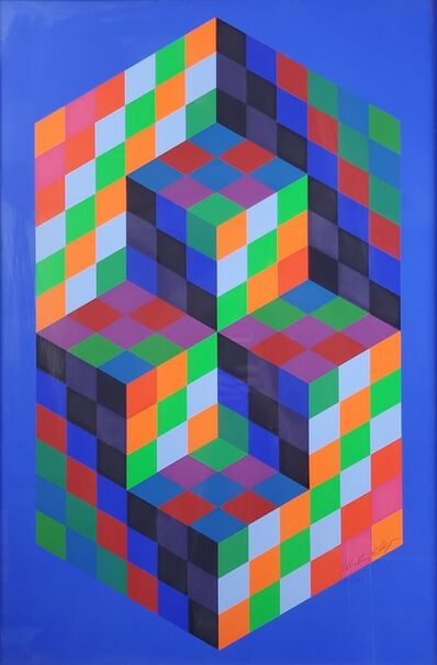 Victor Vasarely, 'Untitled', ca. 1950