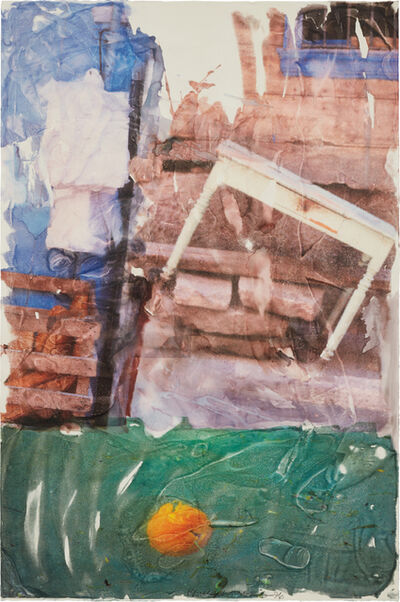 Robert Rauschenberg, 'Orange Float (Anagram)', 1996