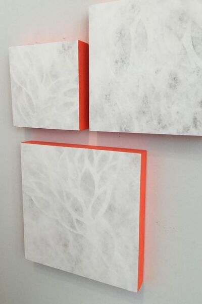 Summer J Hart, 'Ghost Wall (Modular Pieces, Variable Sizes & Groupings)'