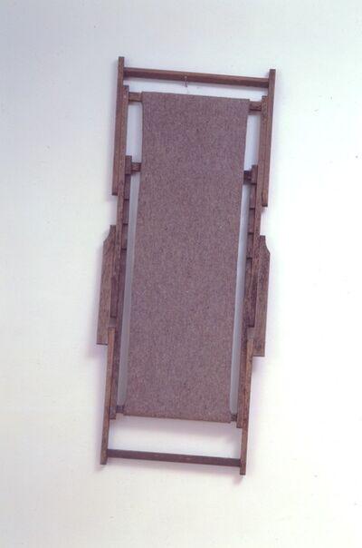 Joseph Beuys, 'GroBer aufgesogener Liegender im Jenseits wollend gestreckter', 1982