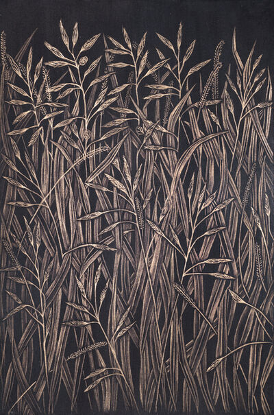 Margot Glass, 'Small Grasses #4', 2020