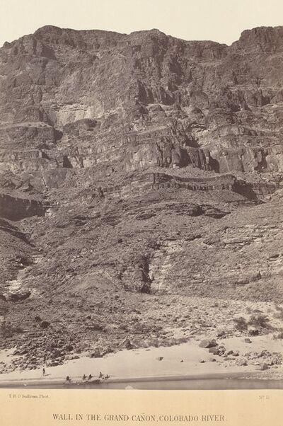 Timothy H. O'Sullivan, 'Wall in the Grand Canyon, Colorado River', 1871