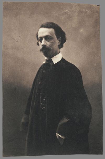 Nadar, 'M. Jules de Pr'maray, courrier des theatres (theatre messenger)', 1857