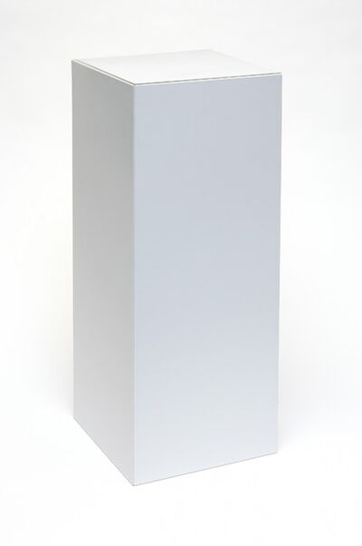Peter Saville, 'Flat Pack Plinth', 2013