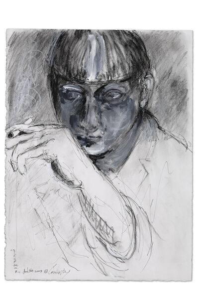 Connie Fox, 'Self as M.B. with Cigarette II', 2007