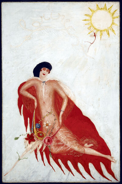Florine Stettheimer, 'Portrait of Myself', 1923