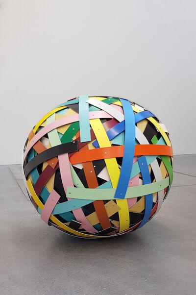 Beat Zoderer, 'Flickenball', 2014