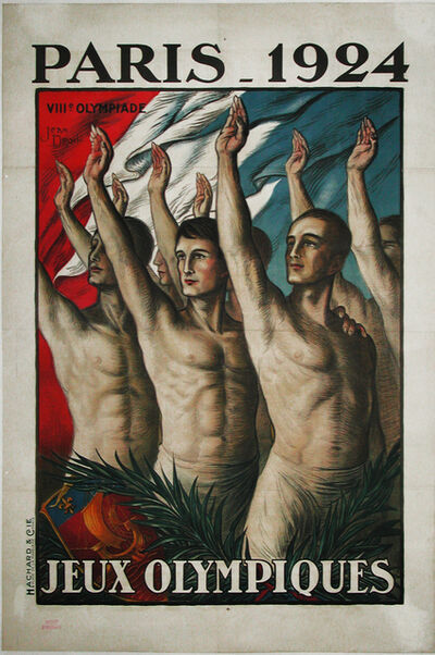 Jean Droit, 'PARIS OLYMPIC GAMES 1924', 1924