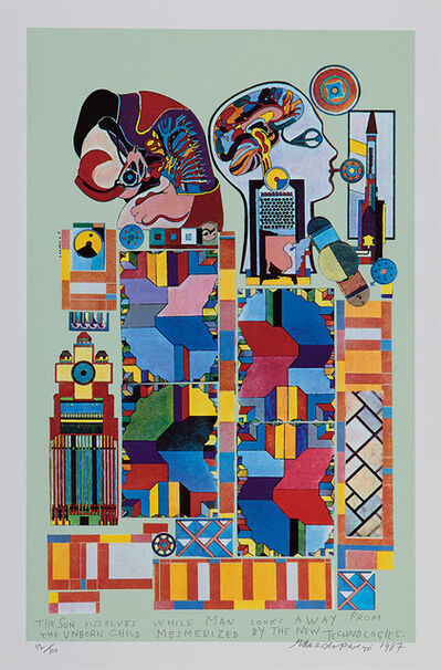 Eduardo Paolozzi, 'The Sun Dissolves', 1987