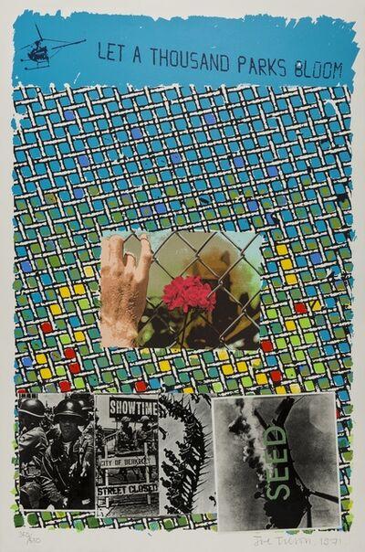 Joe Tilson, 'Let a Thousand Parks Bloom', 1971