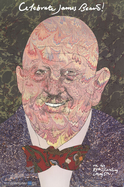 Milton Glaser, 'Celebrate James Beard', 1986