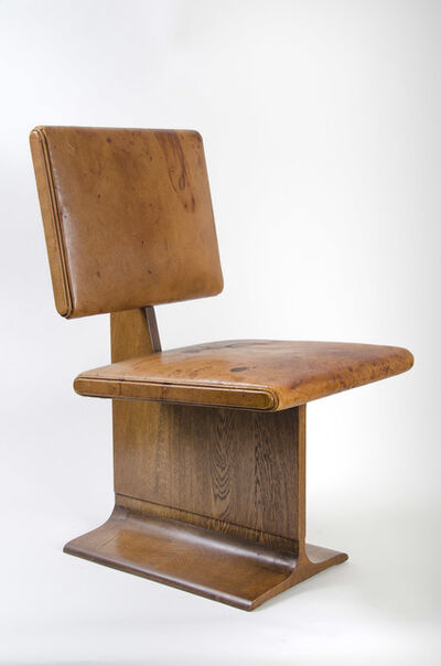 Rudolph Schindler, 'Pair of Dining Room Chairs, Designed for the Dr. Leo and Zara Bigelman, Los Angeles, CA'