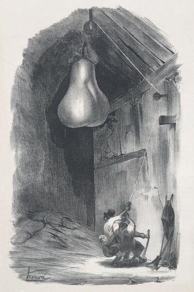 Honoré Daumier, 'AH! HIS!.......(Heave Ho..)  ', 1832