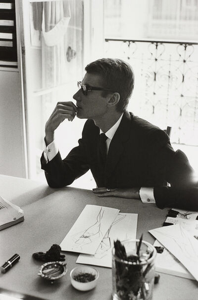 Marc Riboud, 'Yves Saint-Laurent, Paris', 1964