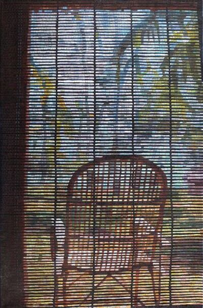"""Anatoly Gankevich, 'Chair (from """"Blinds"""" series)', 2016"""