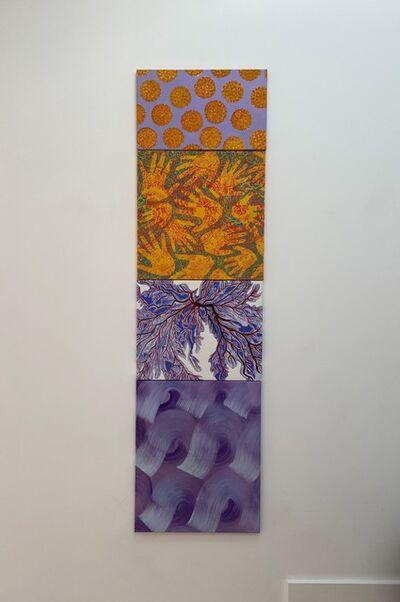 Jacqueline Poncelet, 'line up', 1994
