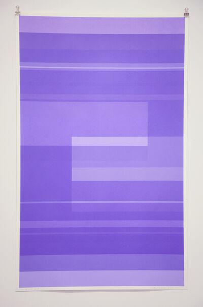 Kate Shepherd, 'Protest Violet', 2016