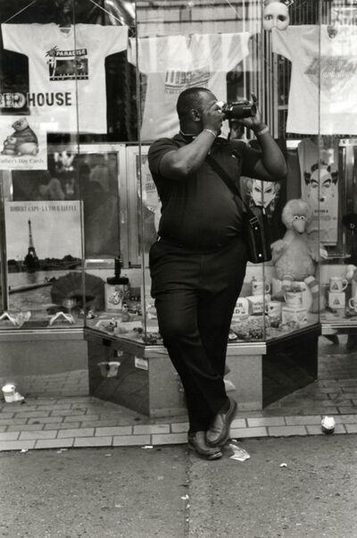 Helen Levitt, 'New York (man with camera)', 1988