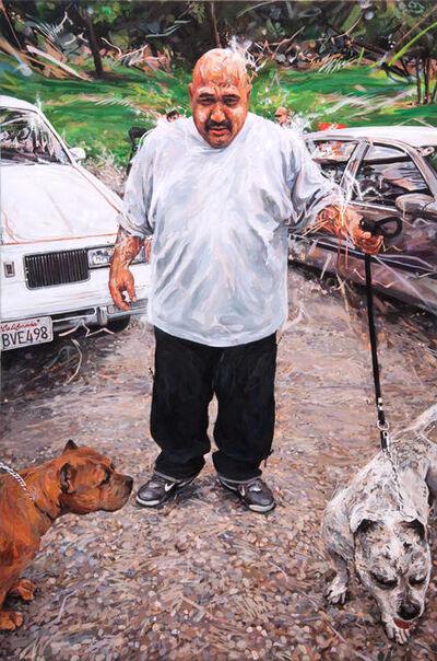 Michael Vasquez, 'Elysian Park - Bull Pitt', 2015