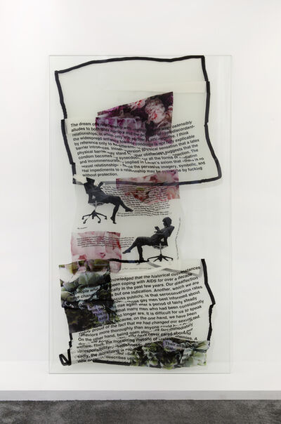 Lili Reynaud-Dewar, 'MY EPIDEMIC (a selection of silk scarves printed with texts on vulnerability, love, sex, prophylaxis and transparency)', 2016