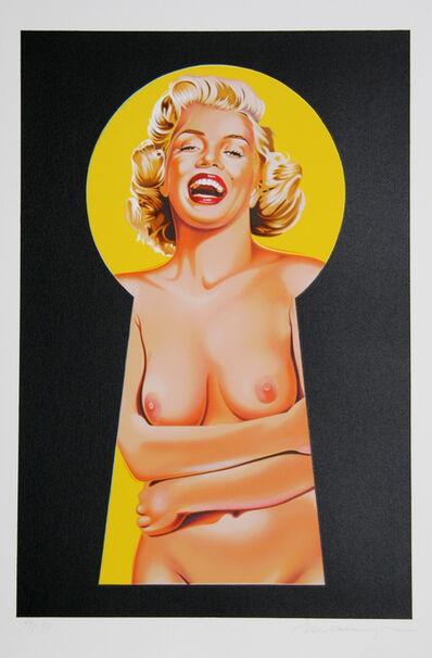 Mel Ramos, 'Peek a Boo Marilyn 3', 2002