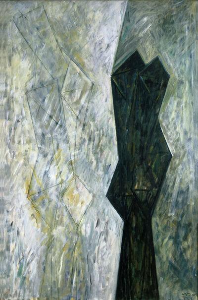 Alfredo Hlito, 'Efigie con testigo', 1981