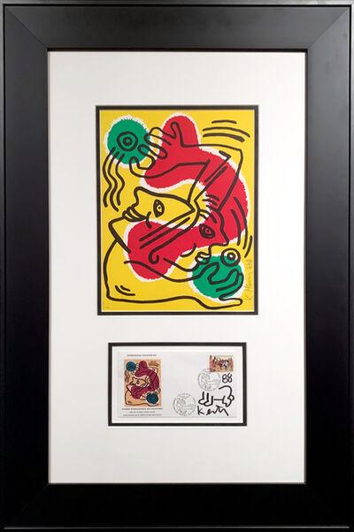 Keith Haring, 'International Volunteer Day', 1988