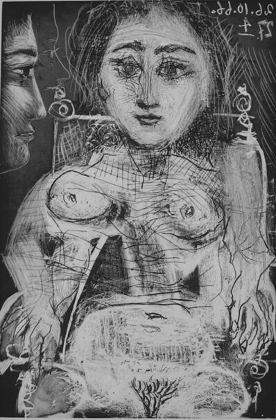 Pablo Picasso, 'Portrait of Jacqueline in the Armchair', 1966