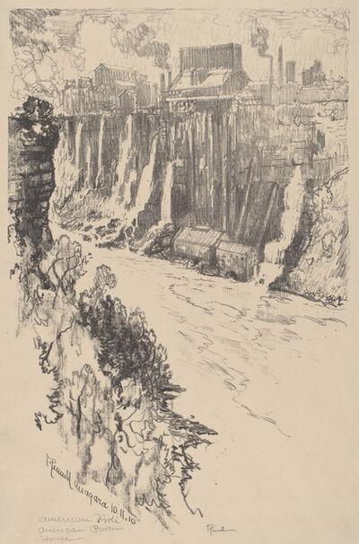 Joseph Pennell, 'American Tivoli', 1910