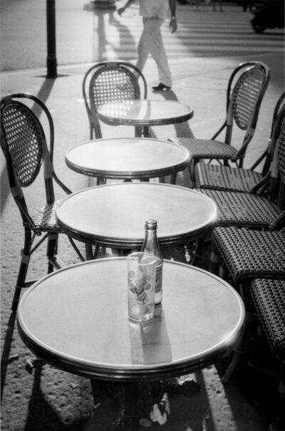 David Darby, ASC, 'Tables , Paris France', 2000