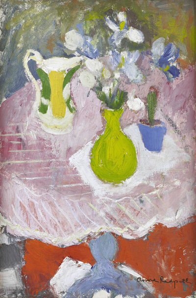 Anne Redpath, 'Still Life with Green Vase', ca. 1958