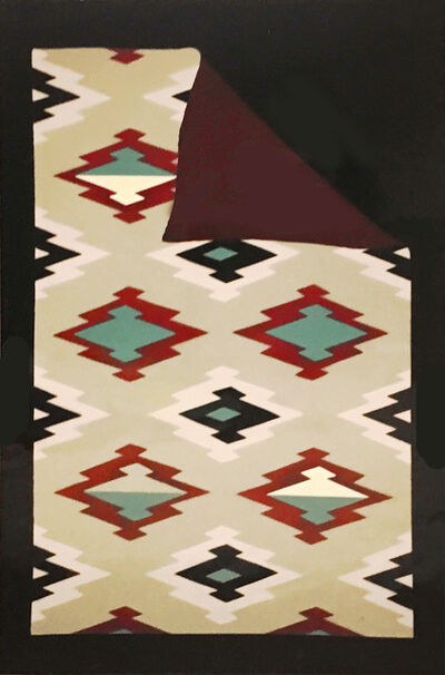 Jim Jacobs, 'Folded Navajo Rug', 1978
