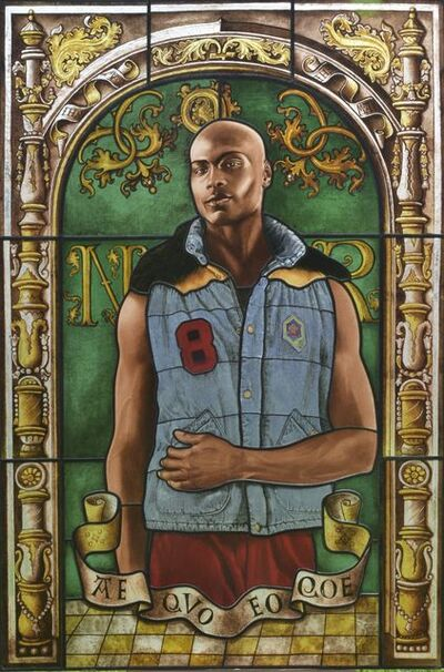 Kehinde Wiley, 'Arms of Nicolaas Ruterius, Bishop of Arras', 2014