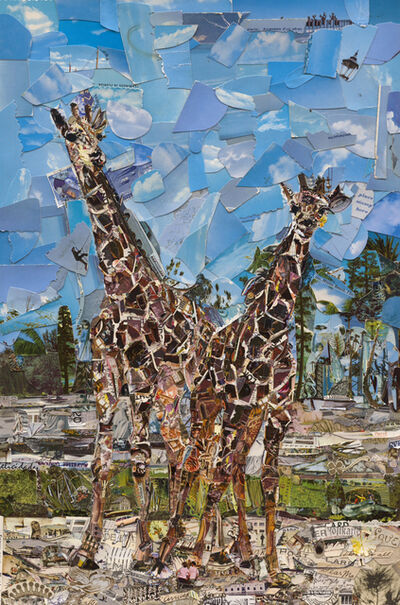 Vik Muniz, 'Postcards from Nowhere: Lion Country Safari, West Palm Beach, Florida', 2014
