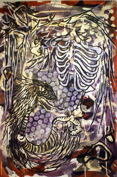 Lucio Santiago, 'Quetzalcóatl, El Origen Inerte 7', 2016
