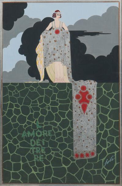 Erté (Romain de Tirtoff), 'L'Amore dei Tre Re'