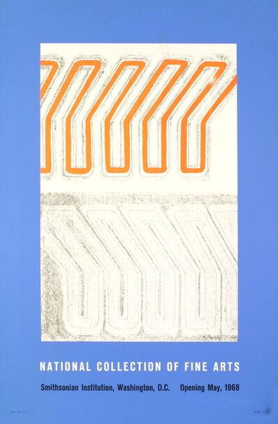 Chryssa Vardea-Mavromichali, 'National Collection of Fine Arts', 1968